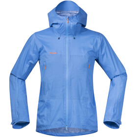 Bergans M's Miendalstind Jacket Light Winter Sky/Pumpkin